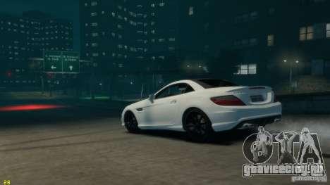 Mercedes-Benz SLK55 R172 AMG 2011 v1.0 для GTA 4 вид слева