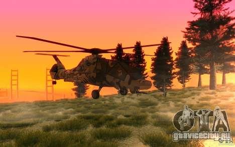 Sikorsky RAH-66 Comanche Camo для GTA San Andreas вид слева