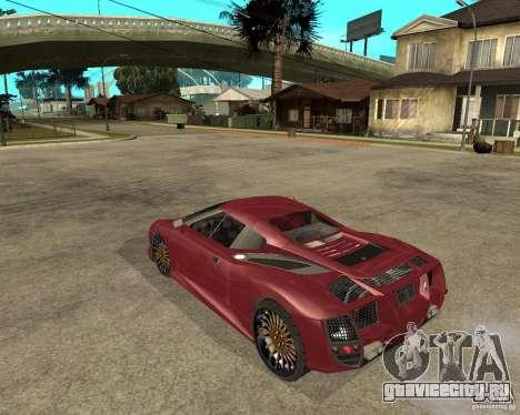 B-Engineering Edonis для GTA San Andreas вид слева