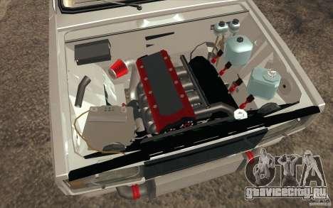 ВАЗ-2107 Lada Drift для GTA San Andreas вид снизу