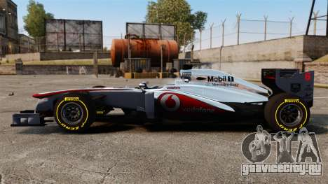 McLaren MP4-28 для GTA 4 вид слева