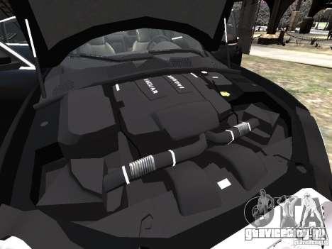 Jaguar XFR для GTA 4 двигатель