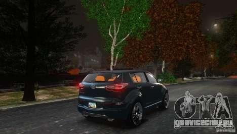 Kia Sportage 2010 v1.0 для GTA 4 вид сзади