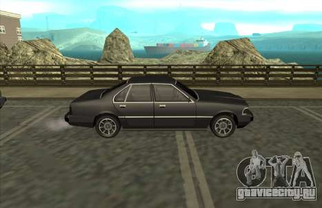 New Sentinel для GTA San Andreas вид справа