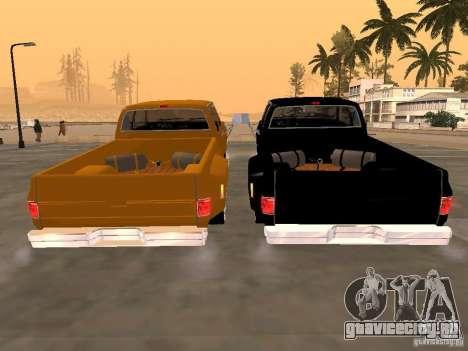 Chevrolet Silverado Lowrider для GTA San Andreas вид справа