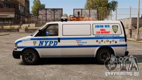 Полицейский Speedo для GTA 4 вид слева