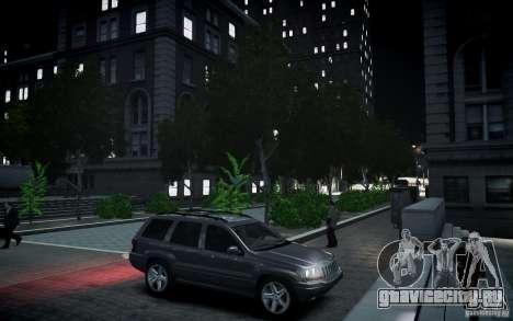 Jeep Grand Cheroke для GTA 4 вид сбоку