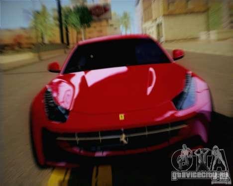Ferrari FF Sport 2011 для GTA San Andreas вид сзади слева
