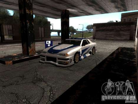 Винил с BMW M3 GTR в Most Wanted для GTA San Andreas вид слева