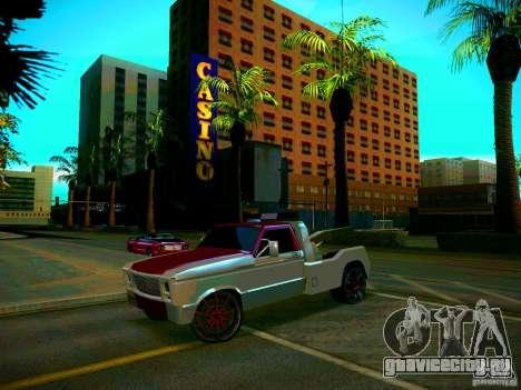 Towtruck tuned для GTA San Andreas вид справа