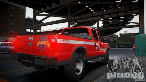 Ford Chief F250 для GTA 4 вид слева