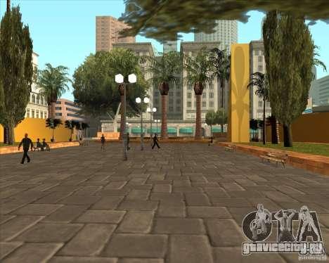 Новый центральный парк Лос Сантоса для GTA San Andreas второй скриншот