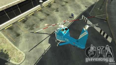 NYPD Bell 412 EP для GTA 4 вид справа