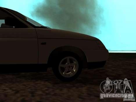 ВАЗ 21103 для GTA San Andreas вид сзади