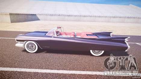 Cadillac Eldorado 1959 interior red для GTA 4 вид сзади слева