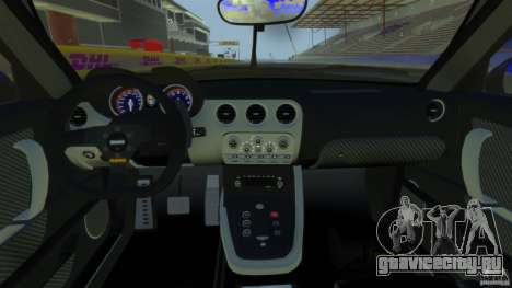 Alfa Romeo 8C Competizione Body Kit 2 для GTA 4 вид сзади