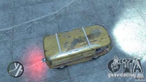 VW Transporter T2 для GTA 4 вид сзади