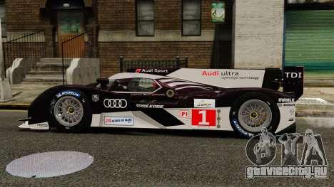 Audi R18 TDI v2.0 для GTA 4 вид слева