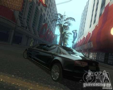 Audi A8 2011 Limo для GTA San Andreas вид сверху