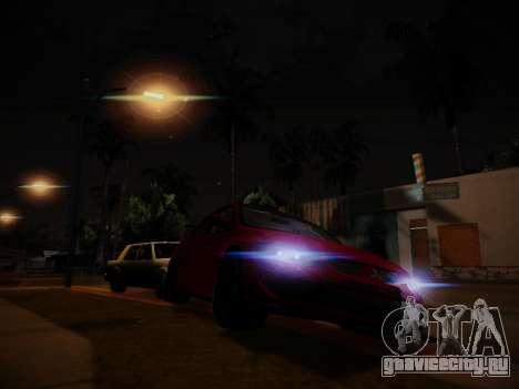 Блики от света для GTA San Andreas