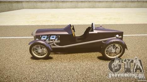 Vintage race car для GTA 4 вид слева