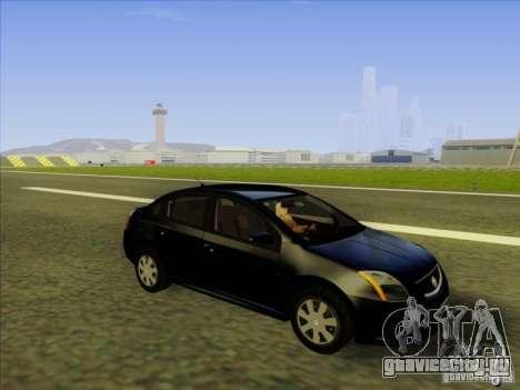 Nissan Sentra 2012 для GTA San Andreas вид изнутри