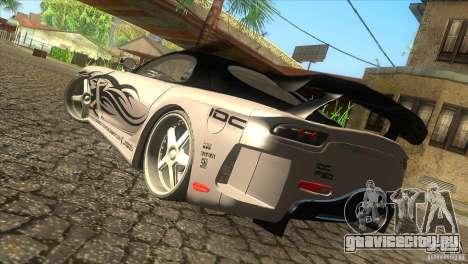Mazda RX-7 Veilside Logan для GTA San Andreas вид слева