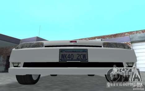Saturn Ion Quad Coupe для GTA San Andreas вид слева