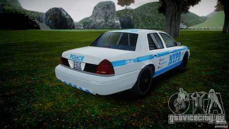 Ford Crown Victoria 2003 v.2 NOoSe для GTA 4 вид сбоку