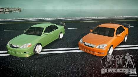 Toyota JZX110 для GTA 4 вид снизу