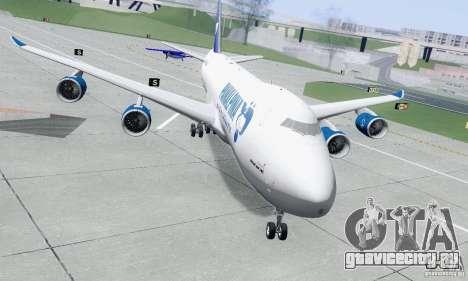 Boeing 747-8F для GTA San Andreas