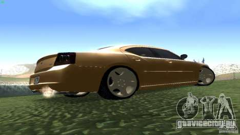 Dodge Charger SRT8 Re-Upload для GTA San Andreas вид сзади