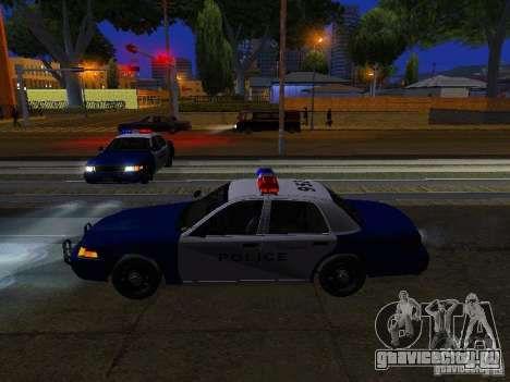 Ford Crown Victoria Belling State Washington для GTA San Andreas колёса