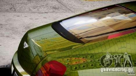 Bentley Continental SS 2010 Suitcase Croco [EPM] для GTA 4 вид снизу