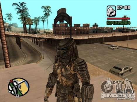 Predator Хищник (в маске) для GTA San Andreas третий скриншот