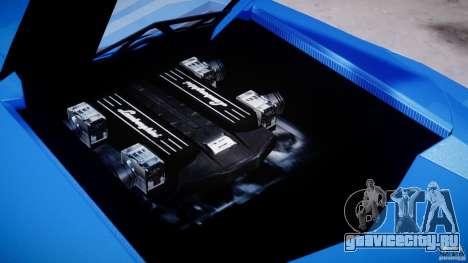Lamborghini Reventon Polizia Italiana для GTA 4 вид сбоку