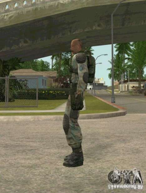 Лебедев из S.T.A.L.K.E.R. Чистое Небо для GTA San Andreas второй скриншот