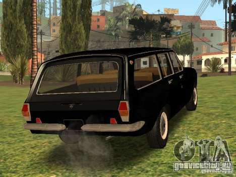 ГАЗ 24-02 Сток для GTA San Andreas вид сзади слева