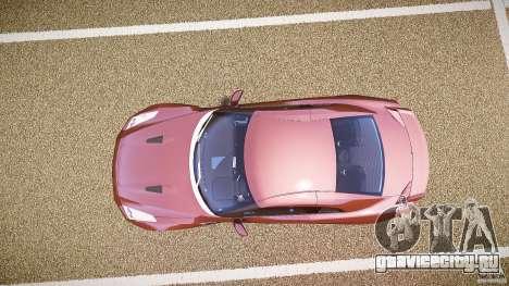Nissan GT-R R35 2010 для GTA 4 вид справа