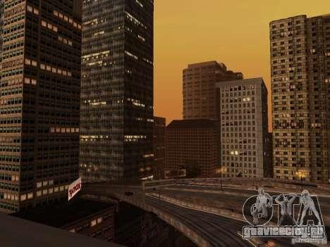 Новые текстуры небоскрёбов Downtown для GTA San Andreas третий скриншот