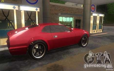AMC Javelin 2010 для GTA San Andreas вид сзади слева