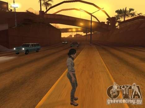 FaryCry 3 Liza Snow для GTA San Andreas пятый скриншот