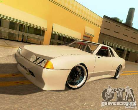 Elegy Drift Korch для GTA San Andreas вид сзади слева