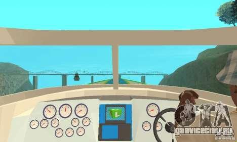 Speed Motorboat для GTA San Andreas вид справа