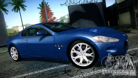 Maserati Gran Turismo 2008 для GTA San Andreas