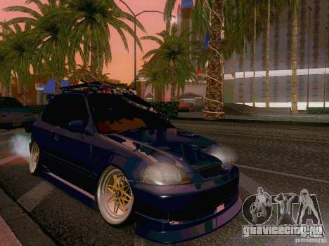 Honda Civic JDM Hatch для GTA San Andreas вид слева