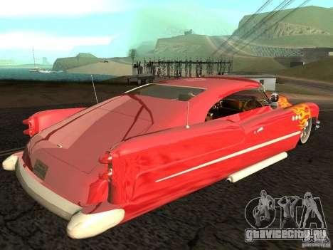Buick Custom 1950 LowRider 1.0 для GTA San Andreas вид слева