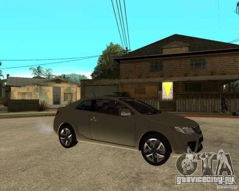 KIA Forte Coup для GTA San Andreas вид справа