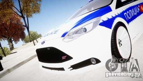 Ford Focus Macedonian Police для GTA 4 вид справа