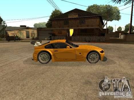 BMW Z4 Style Tuning для GTA San Andreas вид слева
